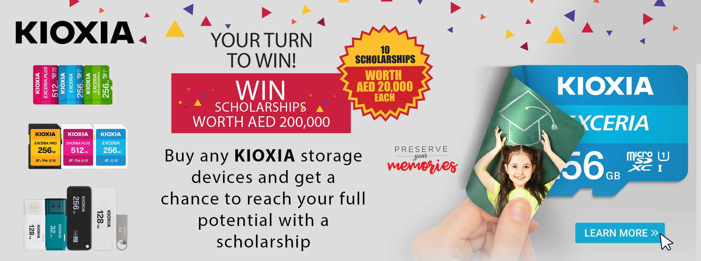 KIOXIA Promotions