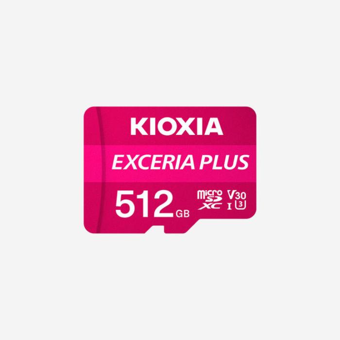 kioxia exceria plus 512gb